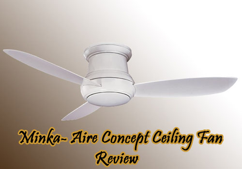 Minka Aire Concept Ceiling Fan Review