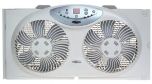 Bionaire Reversible Airflow Twin Window Fan