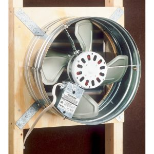 Broan 353 Gable Mount 120-Volt Powered Attic Ventilator