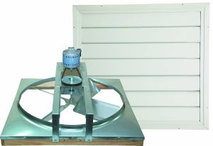 Cool Attic CX24BDM-2SPD 2-Speed Whole House Fan