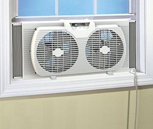 HowPlumb Dual Blade 9'' Reversible Window Fan