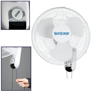 Hurricane Oscillating Outdoor Fan