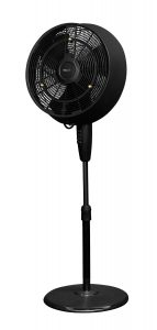 NewAir 18 Inch AF520B Outdoor Misting Oscillating Fan