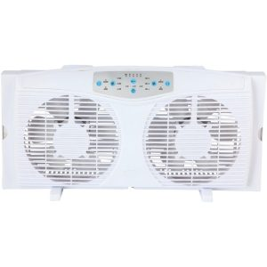 Optimus 8'' F5286 Reversible Window Fan