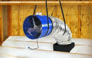 Quietcool QC CL-3100 Whole House Fan 2 Speed Classic
