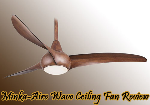 Minka Aire Wave Ceiling Fan Tropical