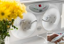 Remote Controlling window Fans