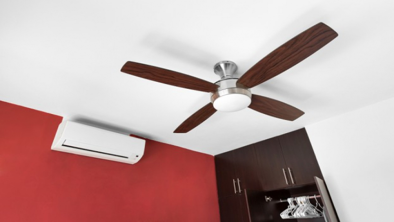 How to save your money and energy using a ceiling fan instead of an ceiling fan vs the air conditioner aloadofball Gallery