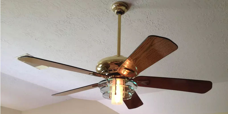 How does a ceiling fan work best fan reviews working ceiling fan aloadofball Image collections