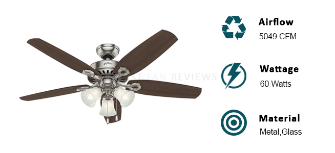 Hunter 53091 Builder Ceiling Fan