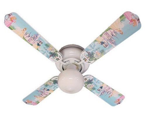 Disney Princesses Castle Ceiling Fan