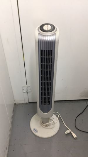 Holmes oscillating tower fans