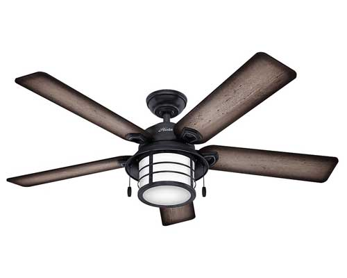 Hunter-Fan-Company-Hunter-59135-Nautical-54-Ceiling-Fan-from-Key-Biscayne-Collection-in-Bronze-Dark-Finish-Weathered-Zinc